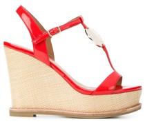 Wedge-Sandalen mit hohem Absatz