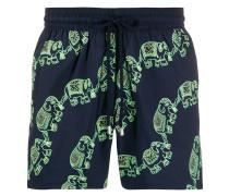 Moorise elephant-print swimming shorts