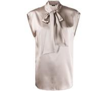 'Nancy' Bluse mit Schleifenkragen