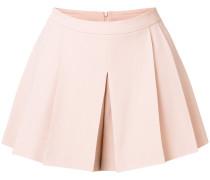 pleat detail shorts
