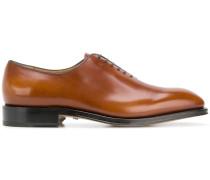 plain-toe Oxford shoes