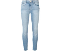 Skinny-Jeans im Cropped-Look