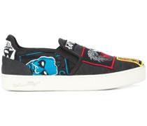 rancid slip on sneakers