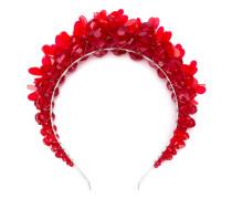 Haarreif mit Blumenapplikationen