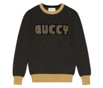 'Guccy' Intarsienpullover