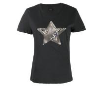T-Shirt mit Stern-Verzierung
