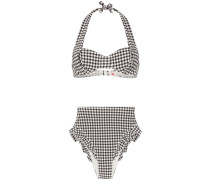 'Lana' Bikini mit Vichy-Karo