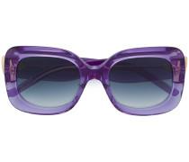 Brille mit rechteckigem Gestell