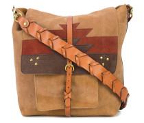 aztect pattern shoulder bag