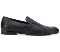 Loafer mit Intrecciato-Webmuster
