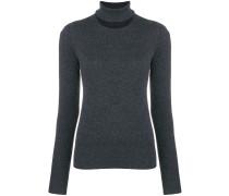 Pullover mit geschlitztem Ausschnitt