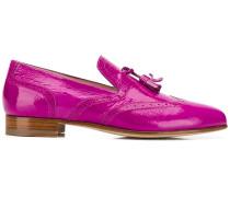 Flache Loafer mit Quasten