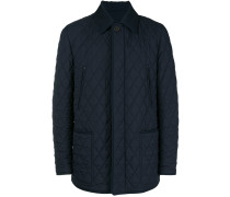 button quilted jacket