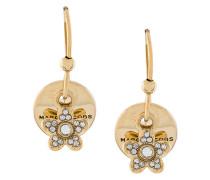 MJ coin earrings