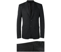 Melierter Anzug