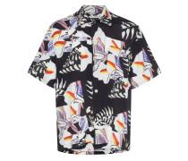 Hemd mit Kachel-Print