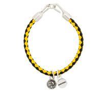 woven charm bracelet