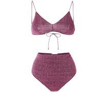 high-waisted Lumière two piece bikini