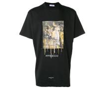 """T-Shirt mit """"Affresco""""-Print"""