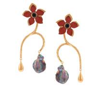 Poinsettia Vine earrings