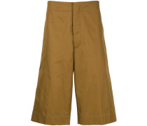 over the knee tailored shorts