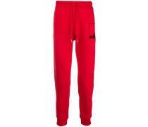 logo drawstring track trousers