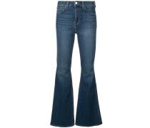 Schmale Bootcut-Jeans