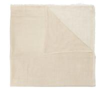 Schal mit unbearbeiteten Kanten
