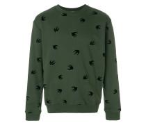 Sweatshirt mit Verzierungen
