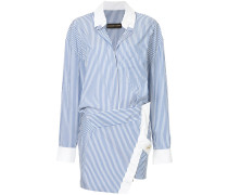 Gestreiftes Tunika-Kleid