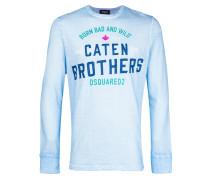 """Langarmshirt mit """"Caten Brothers""""-Print"""