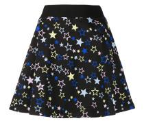 Minirock mit Sterne-Print