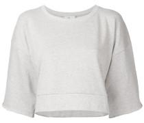 Cropped-Sweatshirt im Lagen-Look