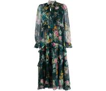 'Dephene' Chiffon-Kleid