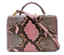 'Grace' Box-Tasche mit Schlangen-Effekt