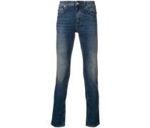 Schmale Jeans mit Waschung