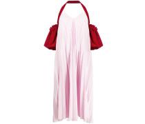 'Heart Leak' Kleid mit Falten