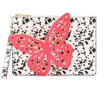 '3D' Clutch mit Schmetterling