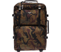 camouflage trolley bag