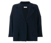 single-breasted oversize jacket