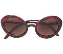 Sonnenbrille mit übergroßem Gestell