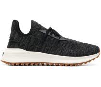 Melierte Strick-Sneakers