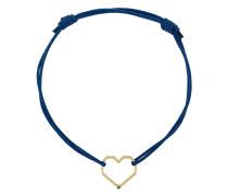Silberarmband mit Herzmotiv