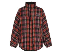 Reversible puffa jacket