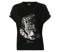 Oberteil mit Leopardenmotiv