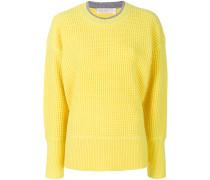 Pullover mit Waffelstrick