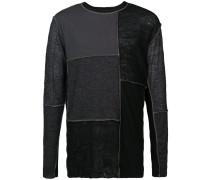 Pullover mit Patchwork-Design