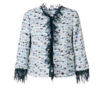 distressed style jacket