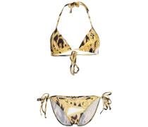 Barocco leopard print bikini