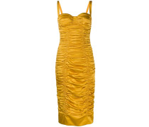 Gerafftes Bodycon-Kleid